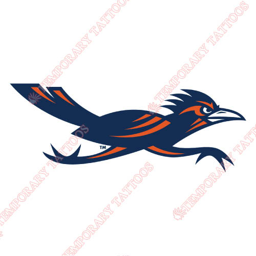 Texas SA Roadrunners Customize Temporary Tattoos Stickers NO.6538