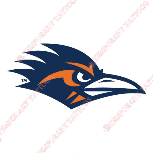 Texas SA Roadrunners Customize Temporary Tattoos Stickers NO.6540