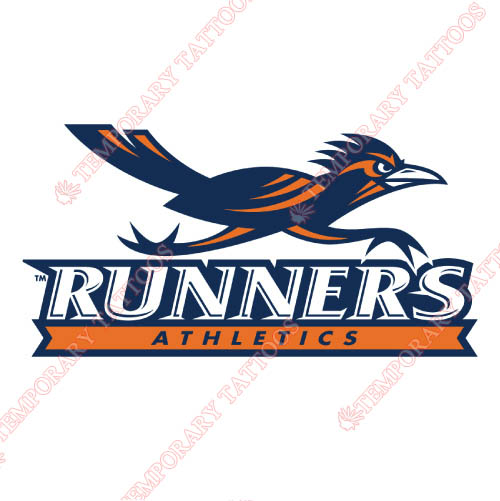 Texas SA Roadrunners Customize Temporary Tattoos Stickers NO.6541