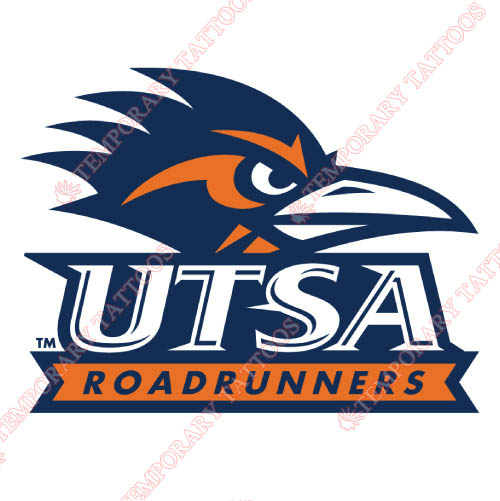 Texas SA Roadrunners Customize Temporary Tattoos Stickers NO.6546