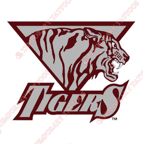 Texas Southern Tigers Customize Temporary Tattoos Stickers NO.6547