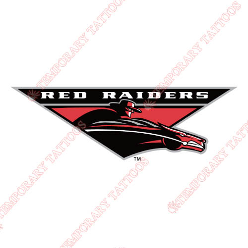 Texas Tech Red Raiders Customize Temporary Tattoos Stickers NO.6559