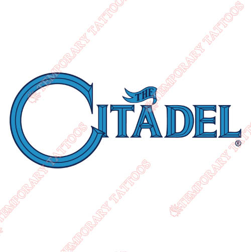 The Citadel Bulldogs Customize Temporary Tattoos Stickers NO.6569