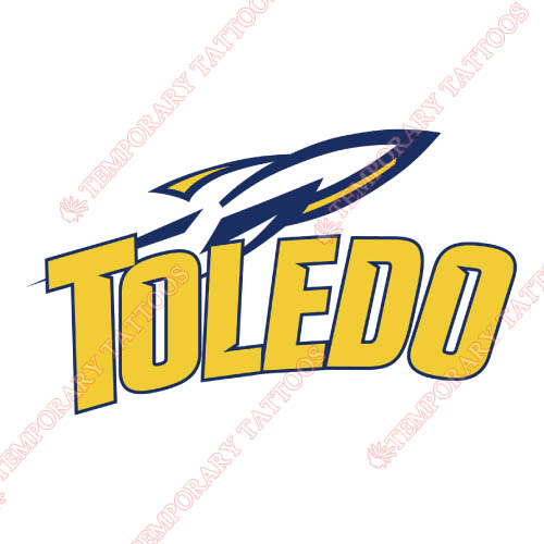 Toledo Rockets Customize Temporary Tattoos Stickers NO.6571