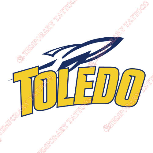Toledo Rockets Customize Temporary Tattoos Stickers NO.6573