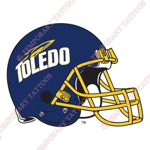 Toledo Rockets Customize Temporary Tattoos Stickers NO.6575