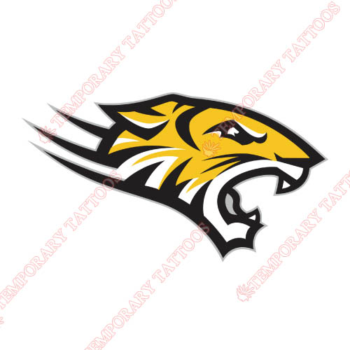 Towson Tigers Customize Temporary Tattoos Stickers NO.6578