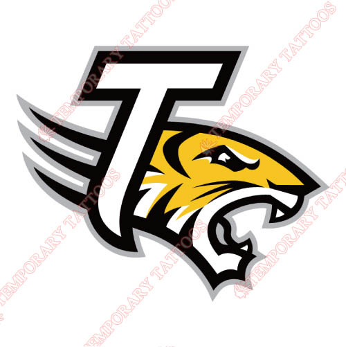 Towson Tigers Customize Temporary Tattoos Stickers NO.6587