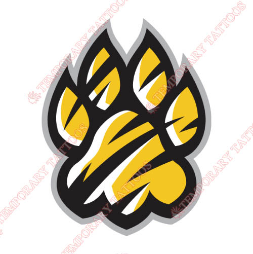 Towson Tigers Customize Temporary Tattoos Stickers NO.6588