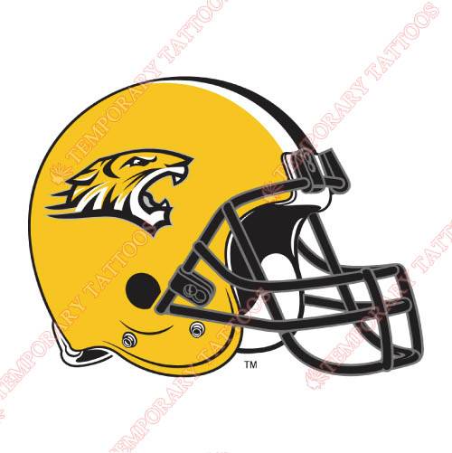 Towson Tigers Customize Temporary Tattoos Stickers NO.6589