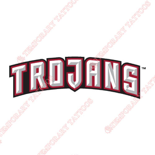 Troy Trojans Customize Temporary Tattoos Stickers NO.6594