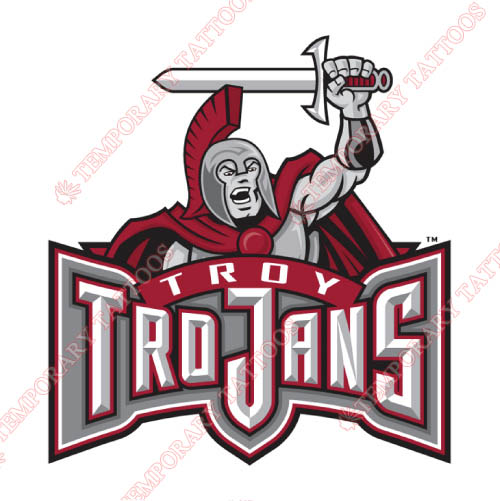 Troy Trojans Customize Temporary Tattoos Stickers NO.6598