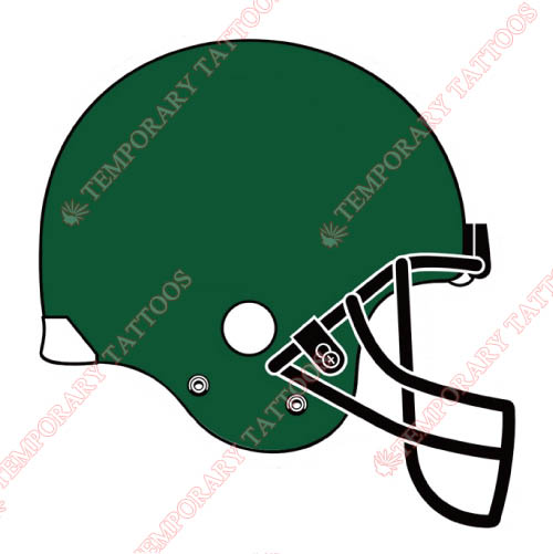 Tulane Green Wave Customize Temporary Tattoos Stickers NO.6615