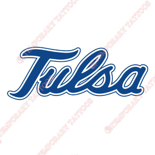 Tulsa Golden Hurricane Customize Temporary Tattoos Stickers NO.6624
