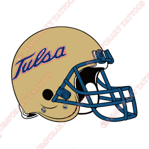Tulsa Golden Hurricane Customize Temporary Tattoos Stickers NO.6627