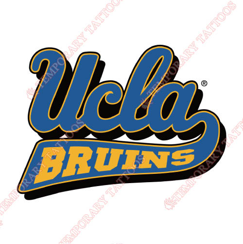 UCLA Bruins Customize Temporary Tattoos Stickers NO.6638
