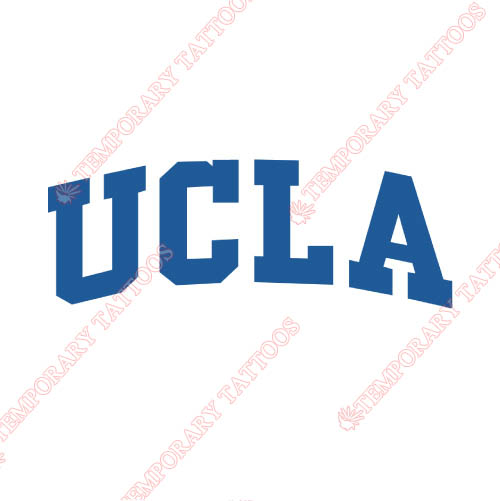 UCLA Bruins Customize Temporary Tattoos Stickers NO.6642