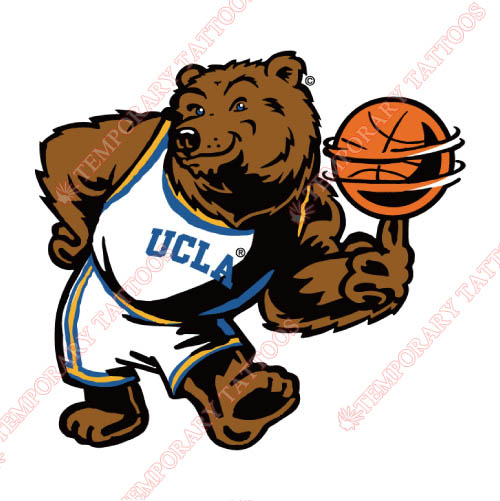 UCLA Bruins Customize Temporary Tattoos Stickers NO.6643
