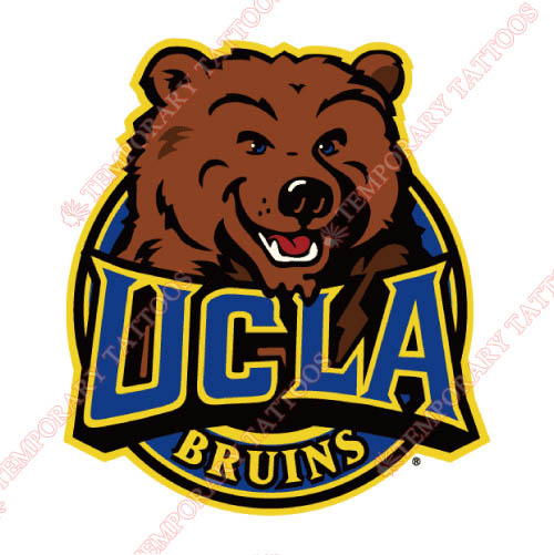 UCLA Bruins Customize Temporary Tattoos Stickers NO.6644