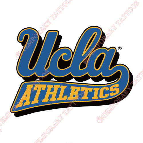 UCLA Bruins Customize Temporary Tattoos Stickers NO.6645