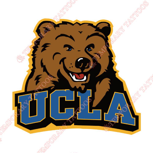 UCLA Bruins Customize Temporary Tattoos Stickers NO.6647