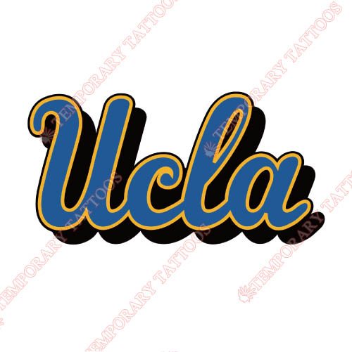 UCLA Bruins Customize Temporary Tattoos Stickers NO.6648