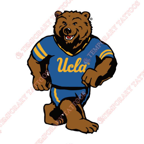 UCLA Bruins Customize Temporary Tattoos Stickers NO.6649