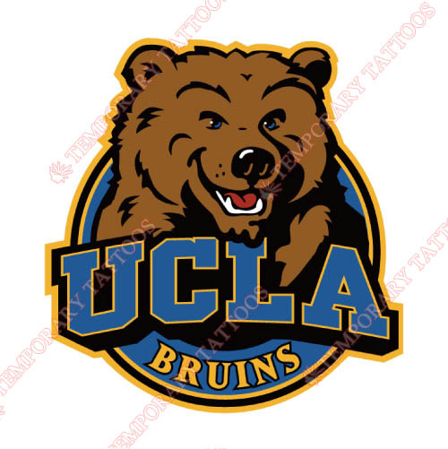 UCLA Bruins Customize Temporary Tattoos Stickers NO.6650