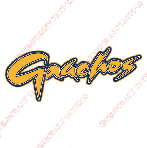 UCSB Gauchos Customize Temporary Tattoos Stickers NO.6675