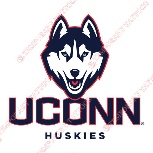 UConn Huskies Customize Temporary Tattoos Stickers NO.6653