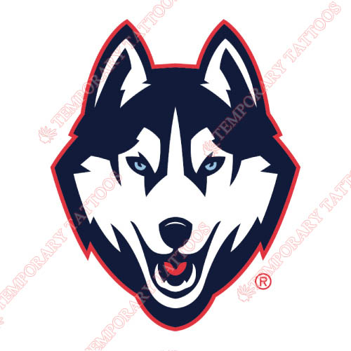 UConn Huskies Customize Temporary Tattoos Stickers NO.6654