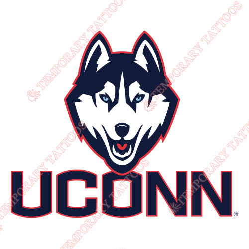 UConn Huskies Customize Temporary Tattoos Stickers NO.6655
