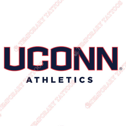 UConn Huskies Customize Temporary Tattoos Stickers NO.6656