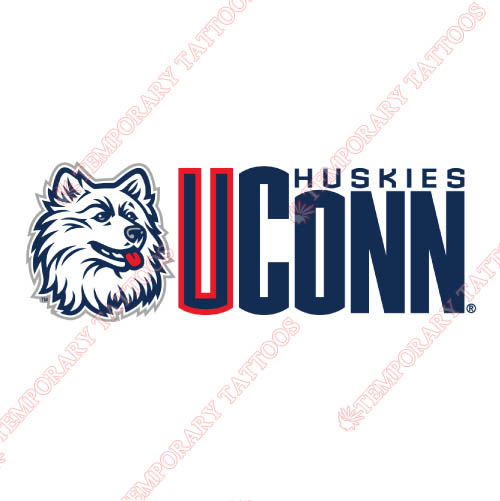 UConn Huskies Customize Temporary Tattoos Stickers NO.6657