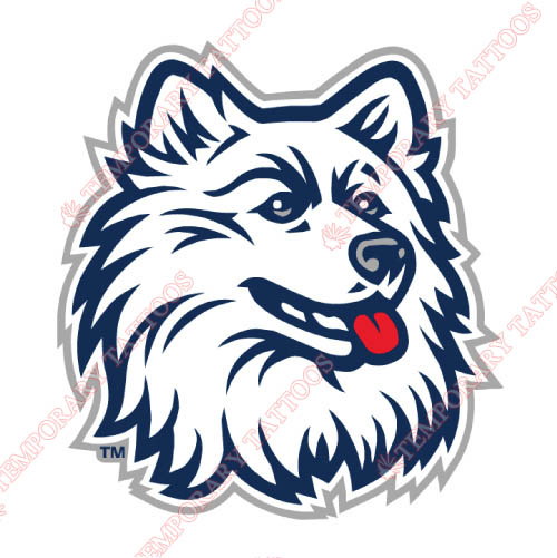 UConn Huskies Customize Temporary Tattoos Stickers NO.6658