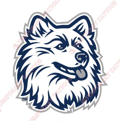 UConn Huskies Customize Temporary Tattoos Stickers NO.6661
