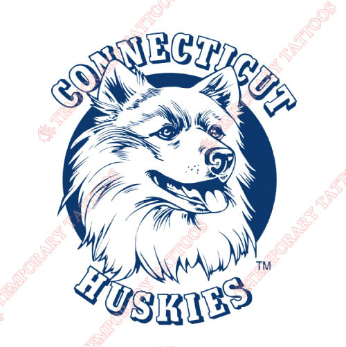 UConn Huskies Customize Temporary Tattoos Stickers NO.6664
