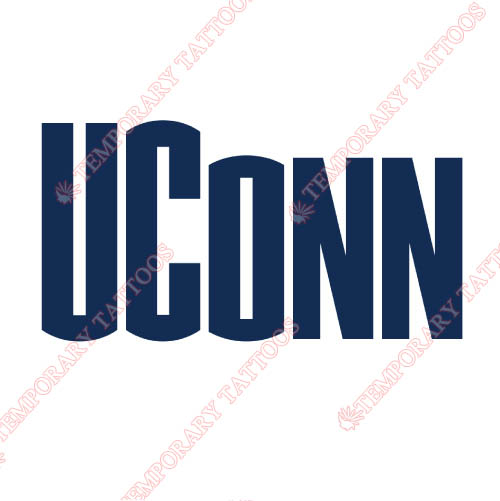 UConn Huskies Customize Temporary Tattoos Stickers NO.6665
