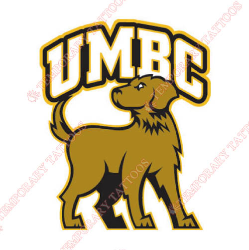 UMBC Retrievers Customize Temporary Tattoos Stickers NO.6686