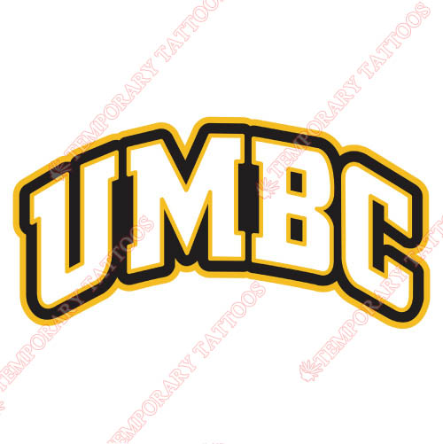 UMBC Retrievers Customize Temporary Tattoos Stickers NO.6688