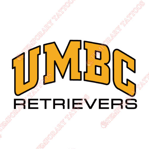 UMBC Retrievers Customize Temporary Tattoos Stickers NO.6690