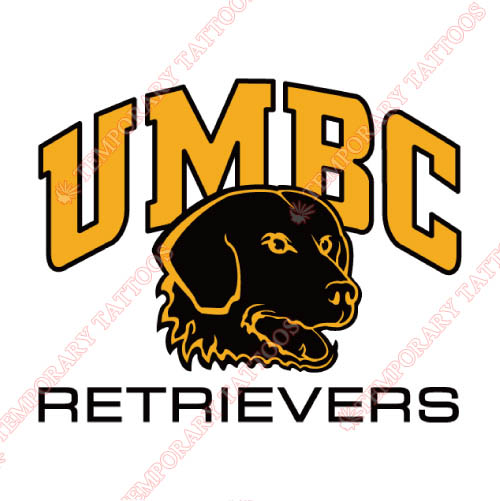 UMBC Retrievers Customize Temporary Tattoos Stickers NO.6691
