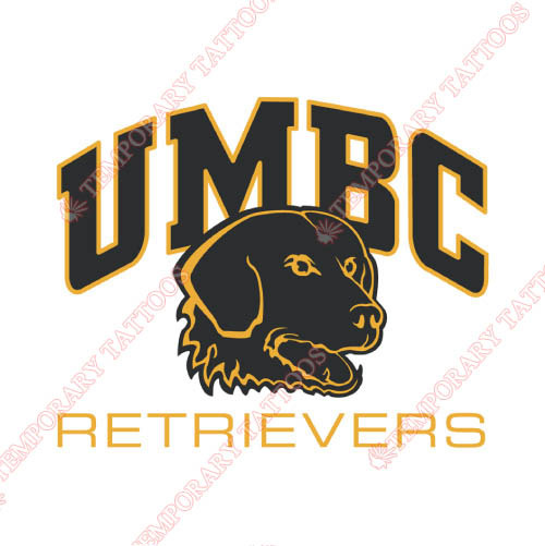 UMBC Retrievers Customize Temporary Tattoos Stickers NO.6692