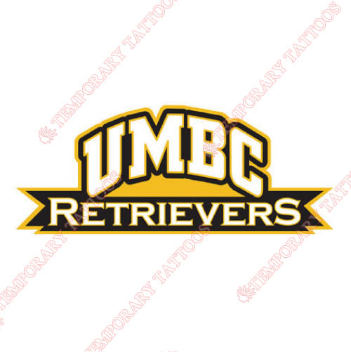 UMBC Retrievers Customize Temporary Tattoos Stickers NO.6693