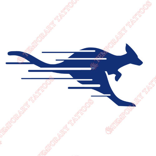 UMKC Kangaroos Customize Temporary Tattoos Stickers NO.6696