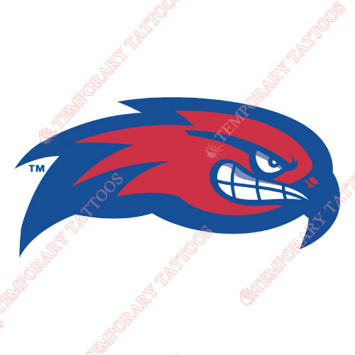 UMass Lowell River Hawks Customize Temporary Tattoos Stickers NO.6684