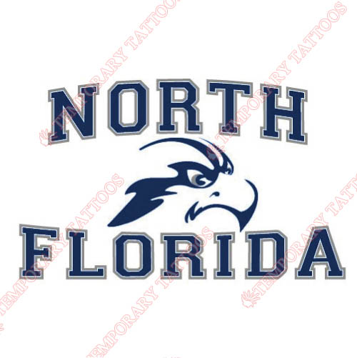UNF Ospreys Customize Temporary Tattoos Stickers NO.6705