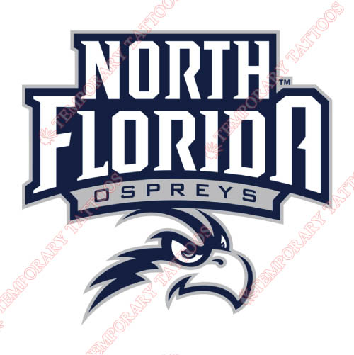 UNF Ospreys Customize Temporary Tattoos Stickers NO.6707