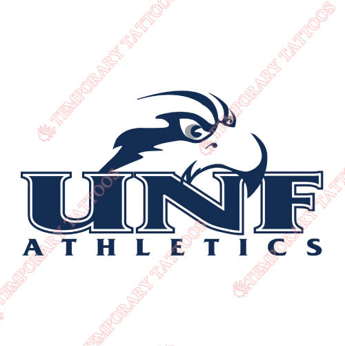 UNF Ospreys Customize Temporary Tattoos Stickers NO.6708