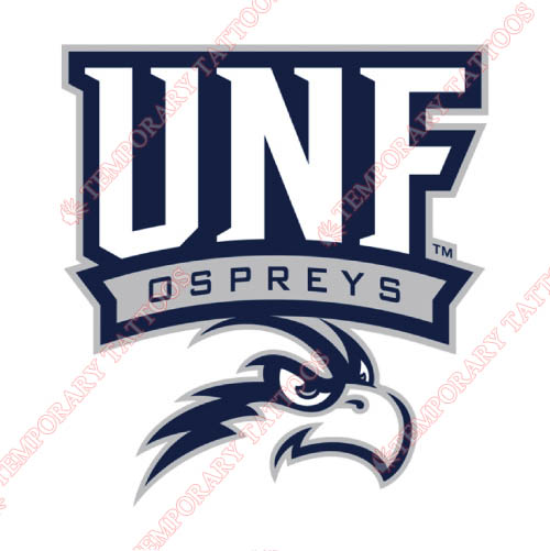 UNF Ospreys Customize Temporary Tattoos Stickers NO.6709